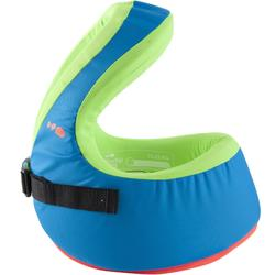 Zwemvest SWIMVEST+ blauw/groen 25-35 kg