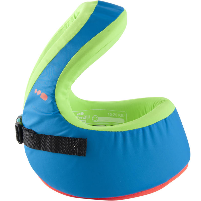 เสื้อฝึกว่ายน้ำรุ่น SWIMVEST+ สำหรับเด็กน้ำหนักตัว 15-25 กก. (สีฟ้า/เขียว)