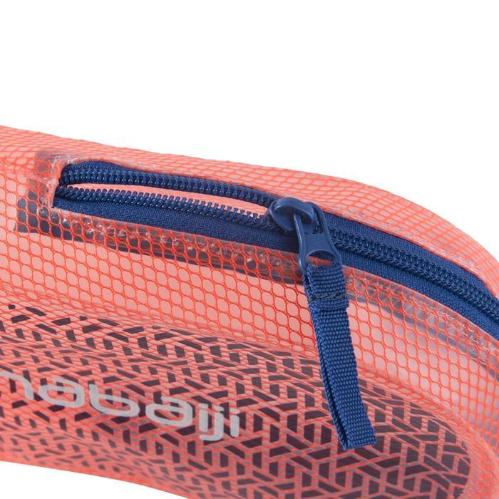WATERDICHT ZWEMZAKJE 3L print koraalrood blauw - 1294014