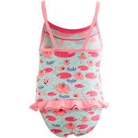 Pink Baby Girl's One-Piece Madina Printed Swimsuit