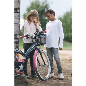 """Original 500 Kids' 24"""" Hybrid Bike 8-12 Years"""