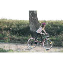Hybridefiets Original 500 24 inch meisjesfiets voor kinderen 9-12 jaar
