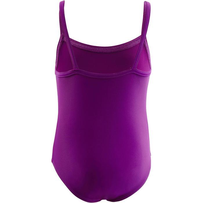 Maillot de bain bébé fille une pièce madina violet - 1294141