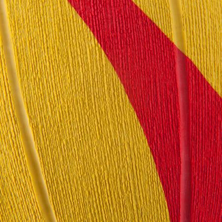 Мяч для водного поло мужской, размер 5- Жёлтый Красный