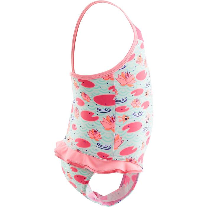 Bañador una pieza para bebé niña madina estampado rosa