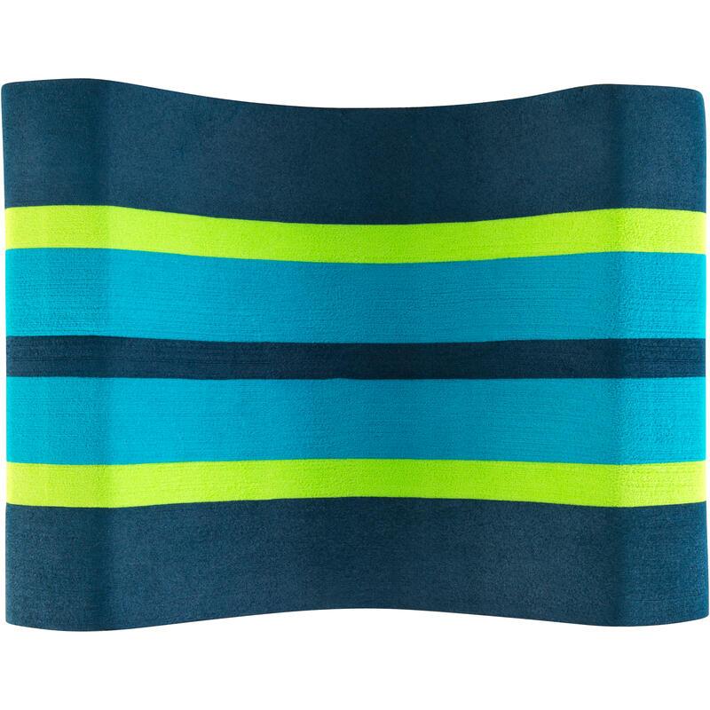 500 SWIMMING PULL BUOY, SIZE L - BLUE GREEN