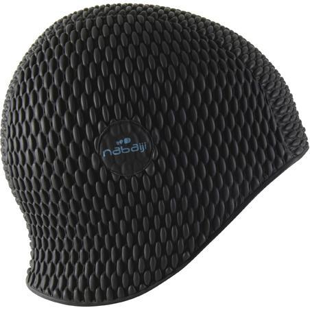 כובע שחייה  - שחור