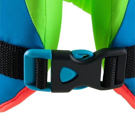 """וסט שחייה SWIMVEST - כחול ירוק(25-35 ק""""ג)"""