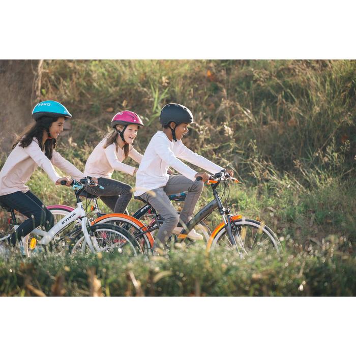 Trekkingrad Kinderfahrrad 24 Zoll Original 100 weiß