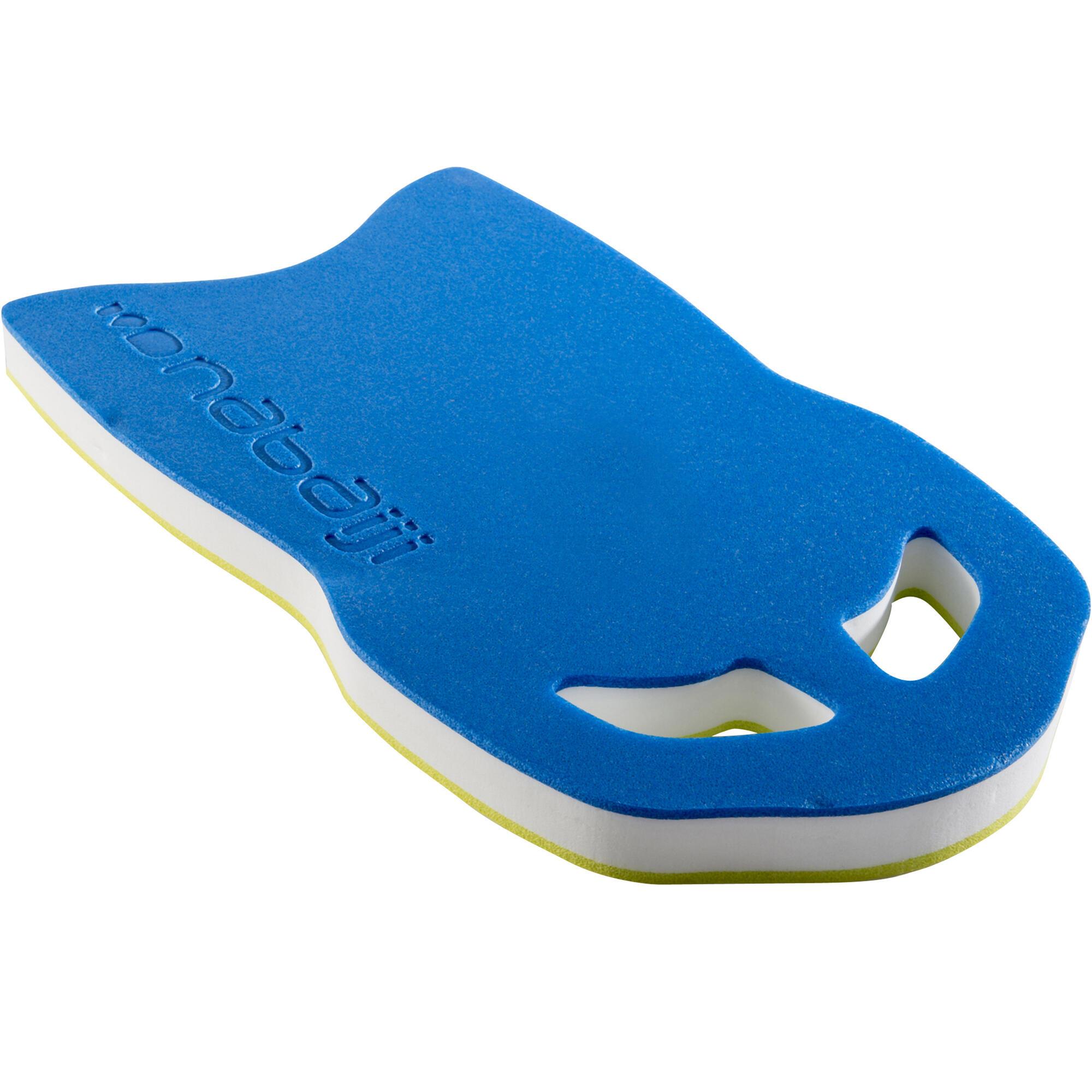 Large Swimming Kickboard Blue Yellow Nabaiji