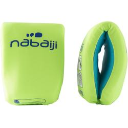 Zwembandjes schuim groen
