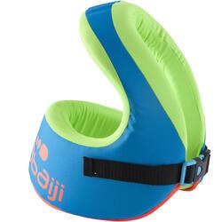 Gilet de natation SWIMVEST+ bleu-vert (15-25 kg)