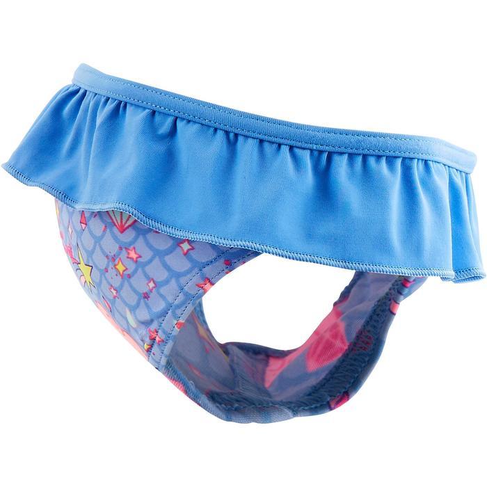 Bikini-Hose All Diam Baby Mädchen Print Wolken blau