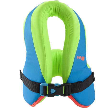 SWIMVEST+ Swim Vest 25-35 kg - Blue-Green