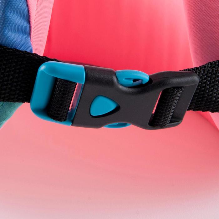 Gilet de natation SWIMVEST+ bleu-rose - 1294268