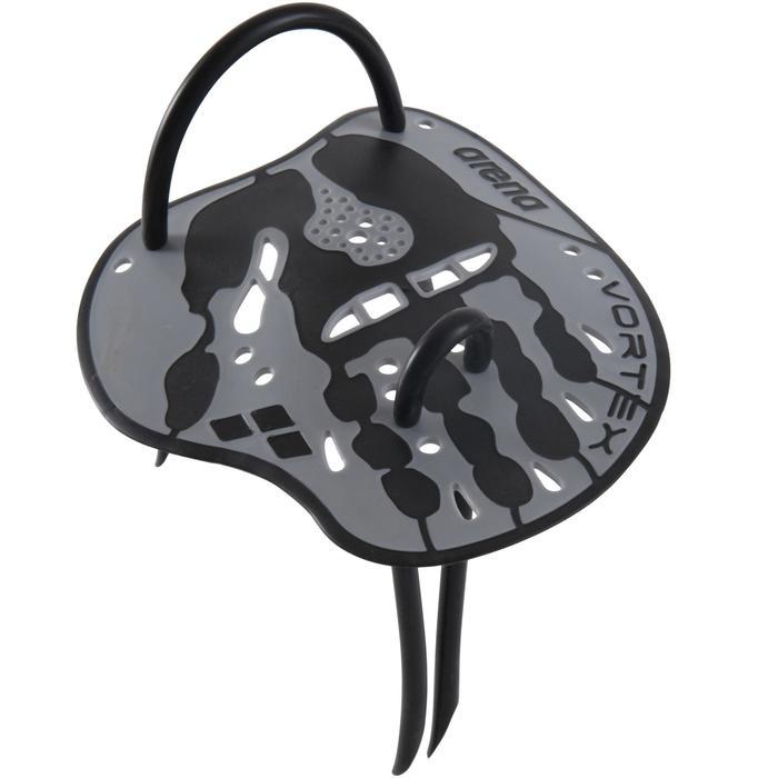 Zwempaddles Vortex grijs maat M