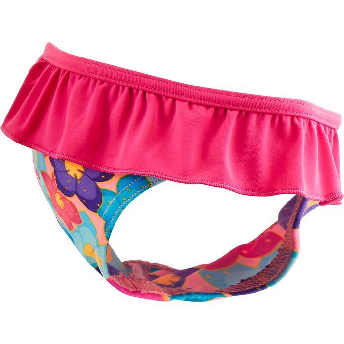 """Maillot de bain une pièce culotte bébé fille rose imprimé """"papillons"""" - 1294281"""