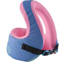 Zwemvest kind blauw/roze 25-35 kg