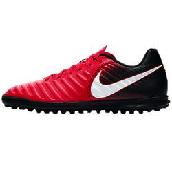 Chaussure football adulte Tiempo Rio turf rouge