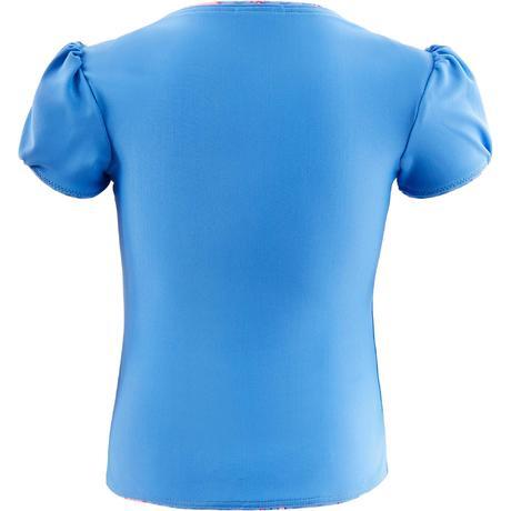 maillot de bain b b fille tankini top bleu avec imprim. Black Bedroom Furniture Sets. Home Design Ideas