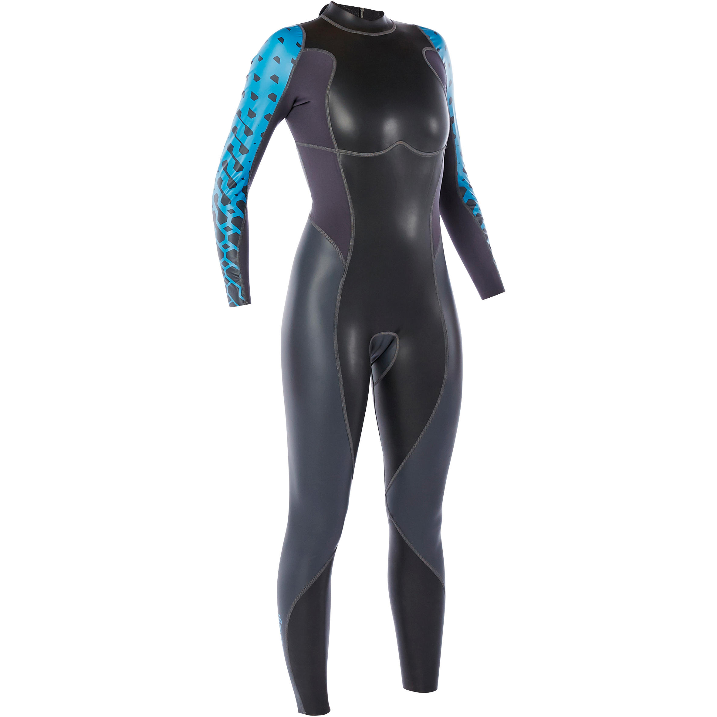 OWS100 Women's 1/0 mm Temperate Water Neoprene Swimming Wetsuit