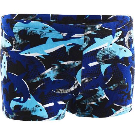 Хлопчачі плавки-боксери - Сині з принтом «Сині акули»