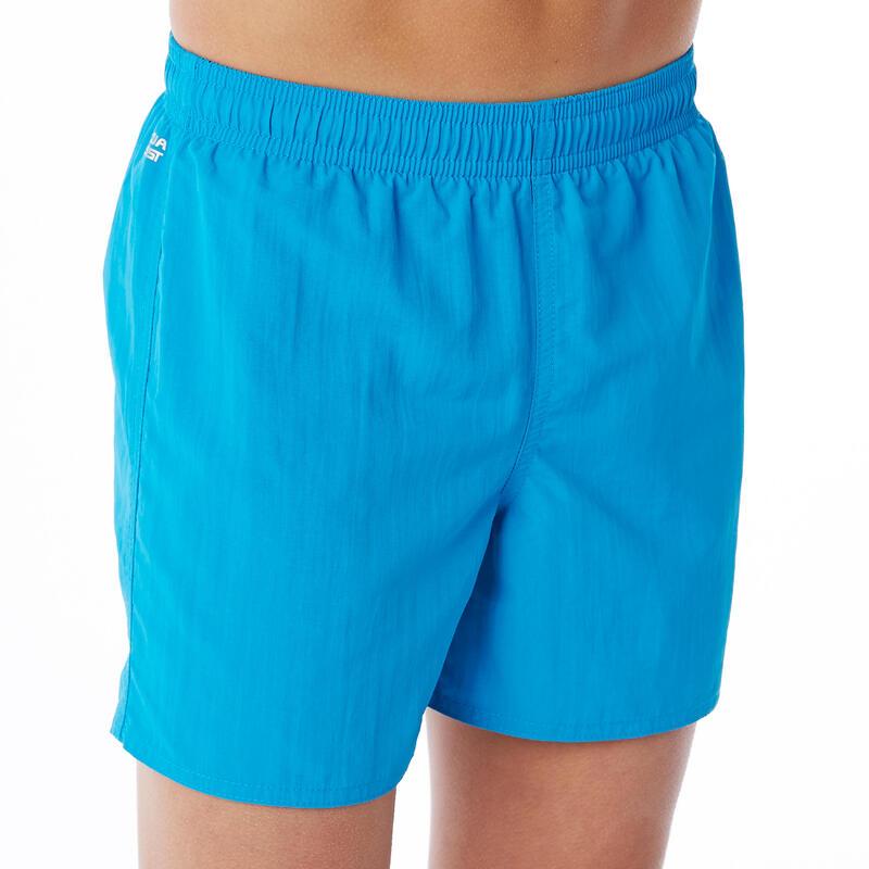 Chlapecké plavky Swimshort 100 Basic modré