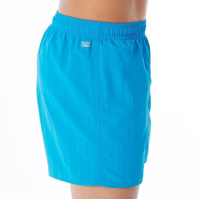 Zwemshort jongens Swimshort 100 blauw