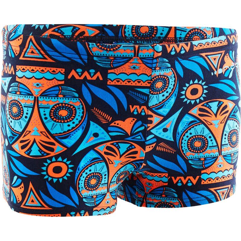 BOY'S SWIMSUITS Swimming - 500 PRINT BOXER - ALLOWLA ORG NABAIJI - Swimwear