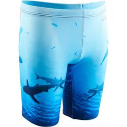 Zwemjammer voor jongens 900 Print Shark 2BB