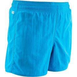 Zwemshort voor jongens Swim Short 100 blauw