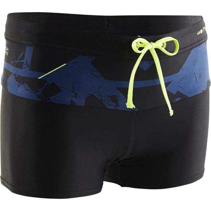 Zwemboxer voor jongens 550 Pool Alldry marineblauw