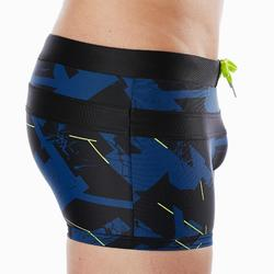 Badehose Boxer 100 Pool All Dry Herren marineblau