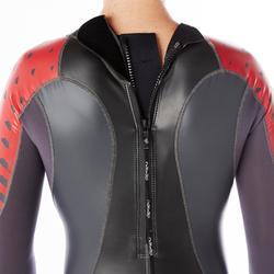 Neopreen herenwetsuit voor zwemmen OWSwim 1/0 mm gematigd warm water