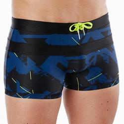 MAILLOT DE BAIN NATATION HOMME BOXER 100 POOL ALL DRY MARINE