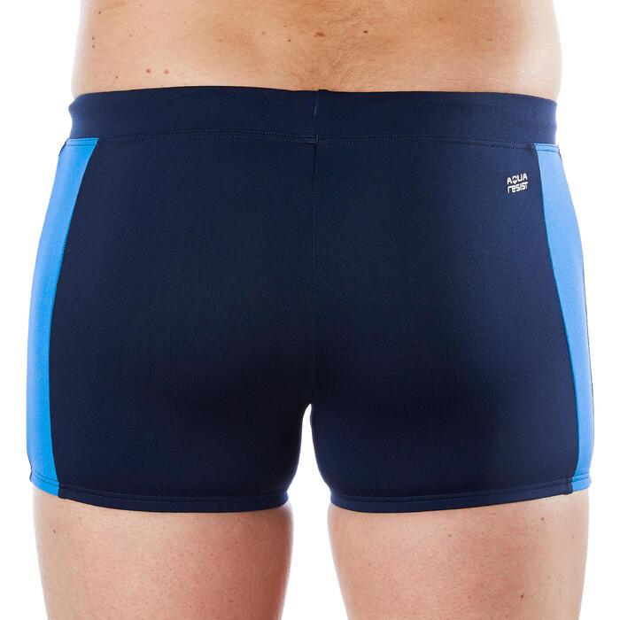 Zwemboxer voor heren 500 Yoke blauw/grijs