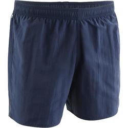 Zwemshort heren 100 Basic marineblauw/oranje