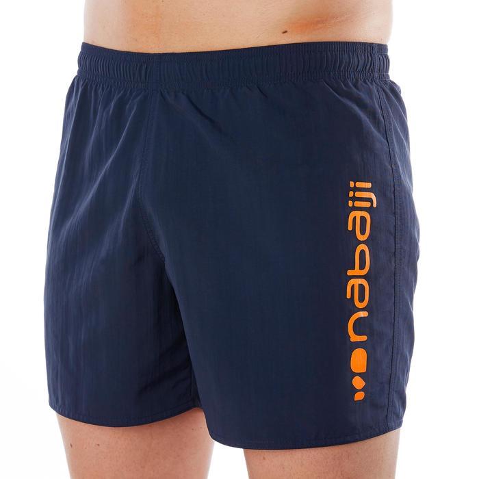 Schwimmshorts 100 Free H Navy Herren orange