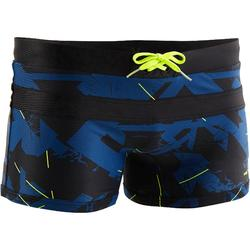 MAILLOT DE BAIN NATATION HOMME BOXER 100 POOL ALL DRY NAVY
