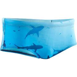 Zwemslip voor heren 500 Side Shark 2B