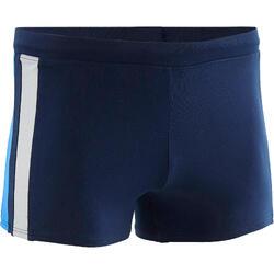 Zwemboxer heren Yoke blauw/grijs