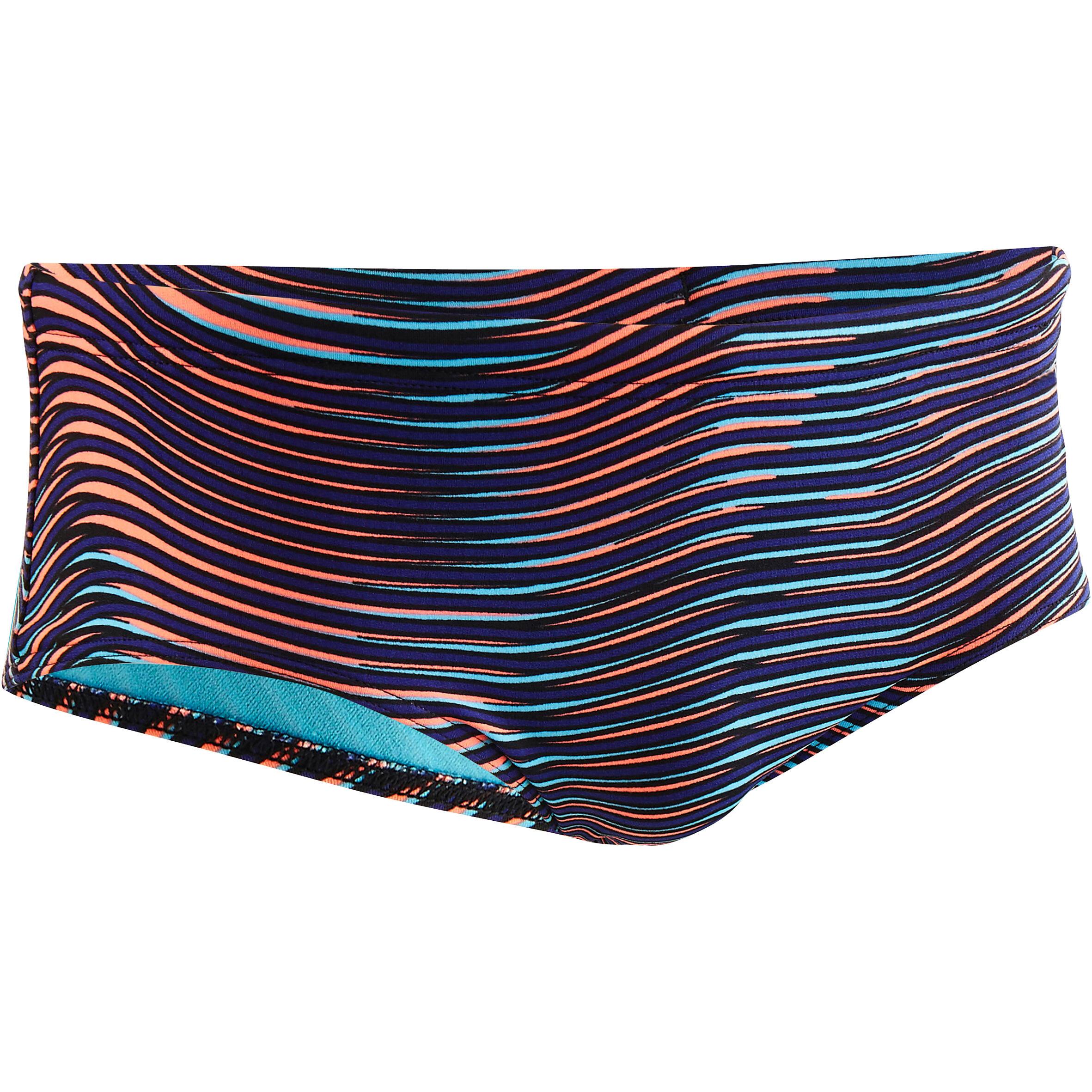 Nabaiji Zwemslip voor heren Slip 550 Side H All Vib blauw