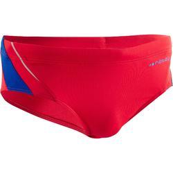 Zwemslip heren Yoke 900 rood/blauw