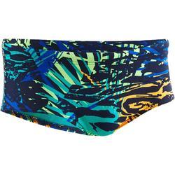 Zwemslip voor heren Slip 500 Side H All Jun marineblauw