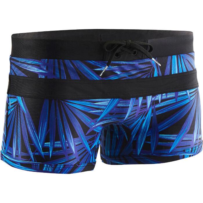 Zwemboxer voor heren 100 Pool All Opi blauw