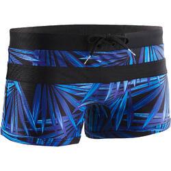 Badehose Boxer 550 Pool H All Opi Herren schwarz/blau