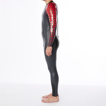 Traje de natación de neopreno OWSwim 1/0 mm hombre aguas templadas