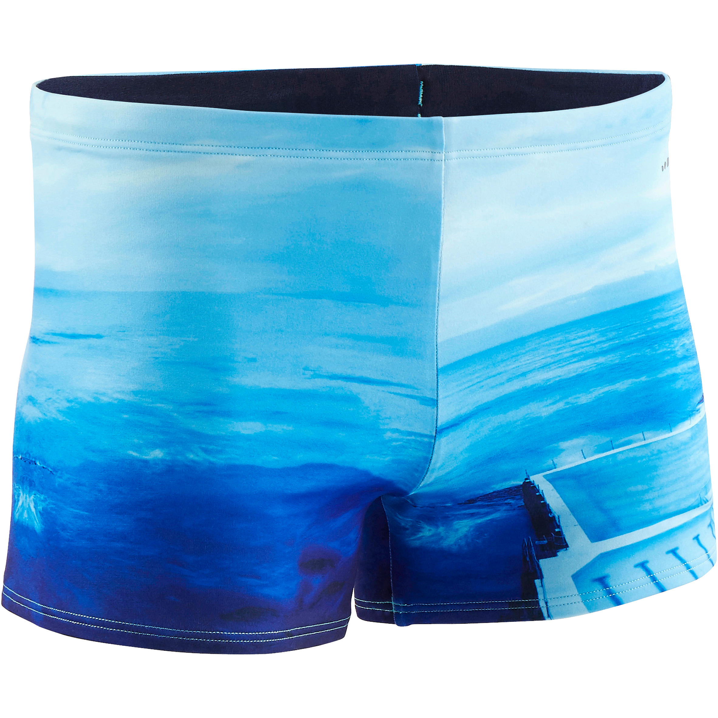 Men swimming trunk b-fit - PRINT BONDI BEACH