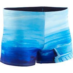 Zwemboxer voor heren 500 Print Bondi Beach