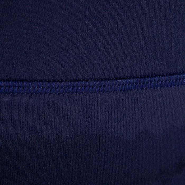 Short YOGA dinámico mujer azul marino estampado